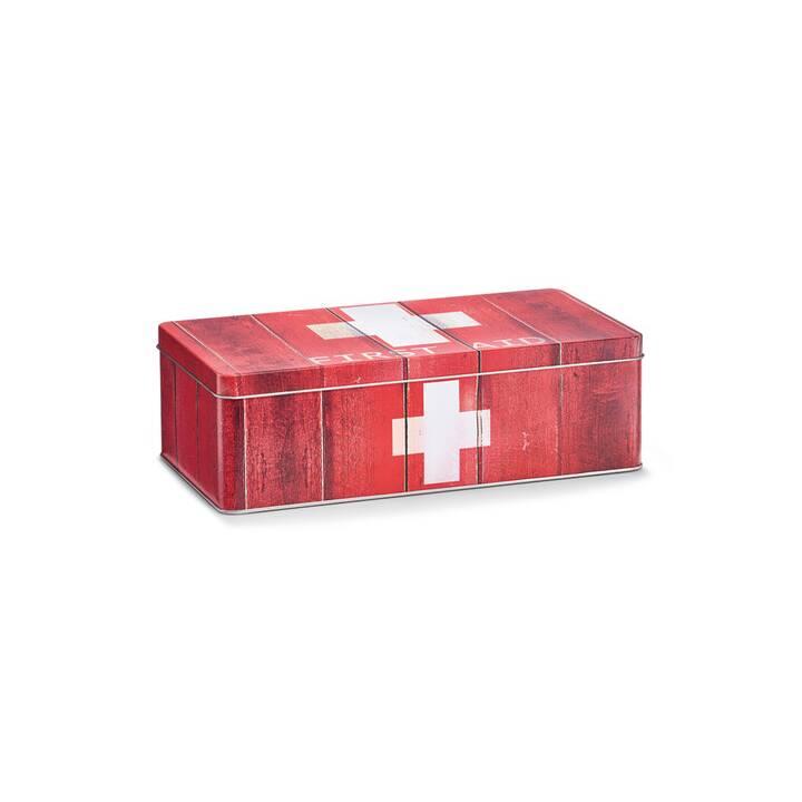 ZELLER PRESENT Erste Hilfe Schrank (Rot)