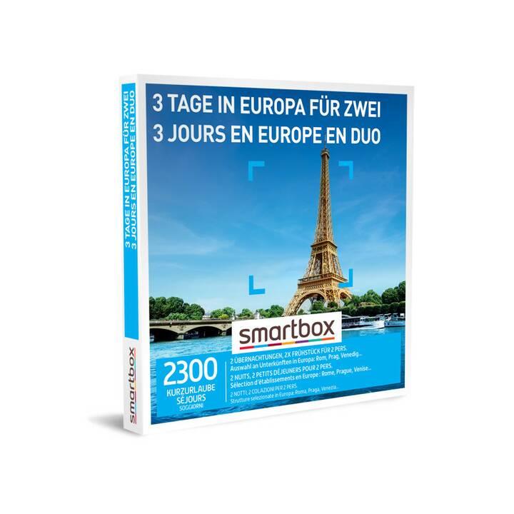 SMARTBOX 3 giorni in Europa per due