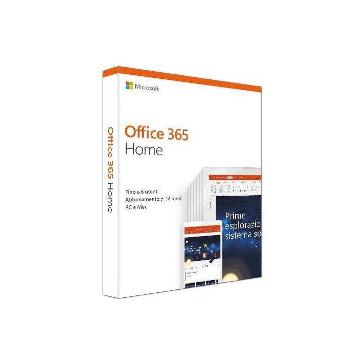 MICROSOFT Office 365 Home (Abbonamento, Italiano)