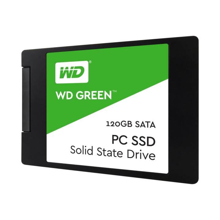 WESTERN DIGITAL WD SSD Green (SATA-III, 120 GB)