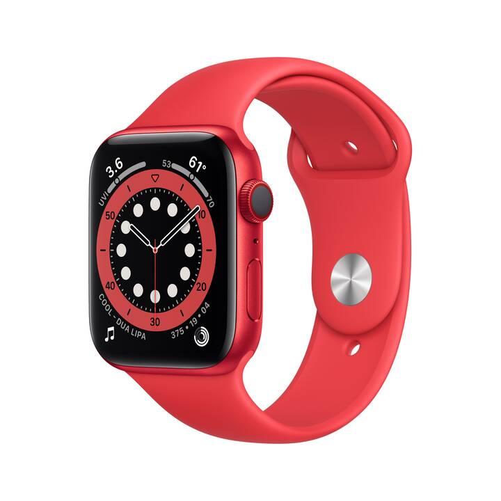 APPLE Watch Series 6 GPS + Cellular (44 mm, Alluminio, Silicone)