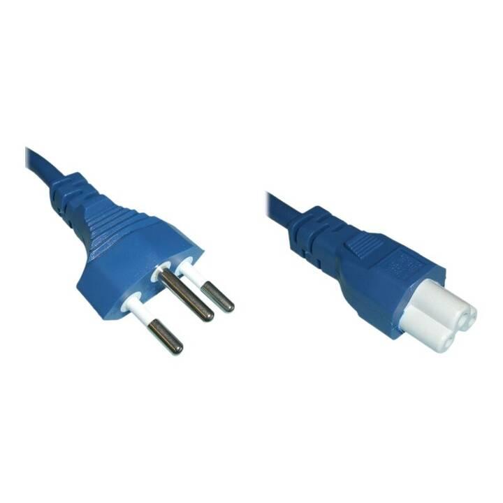 DIGGELMANN Cavo elettrico (T12, 2 m, Blu)