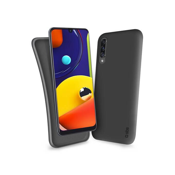 SBS Backcover Polo Case (Galaxy A41, Nero)