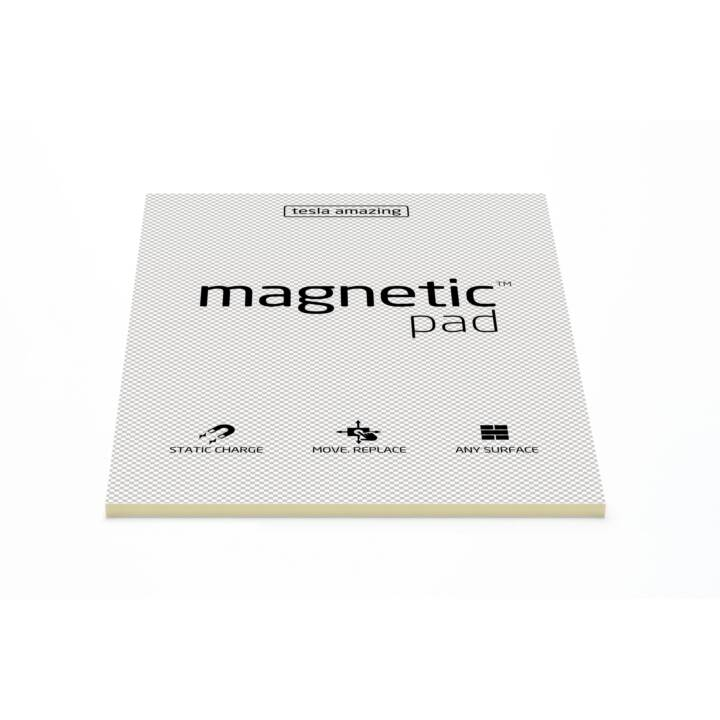 MAGNETIC Notes autocollantes (297 mm x 420 mm, Transparent)