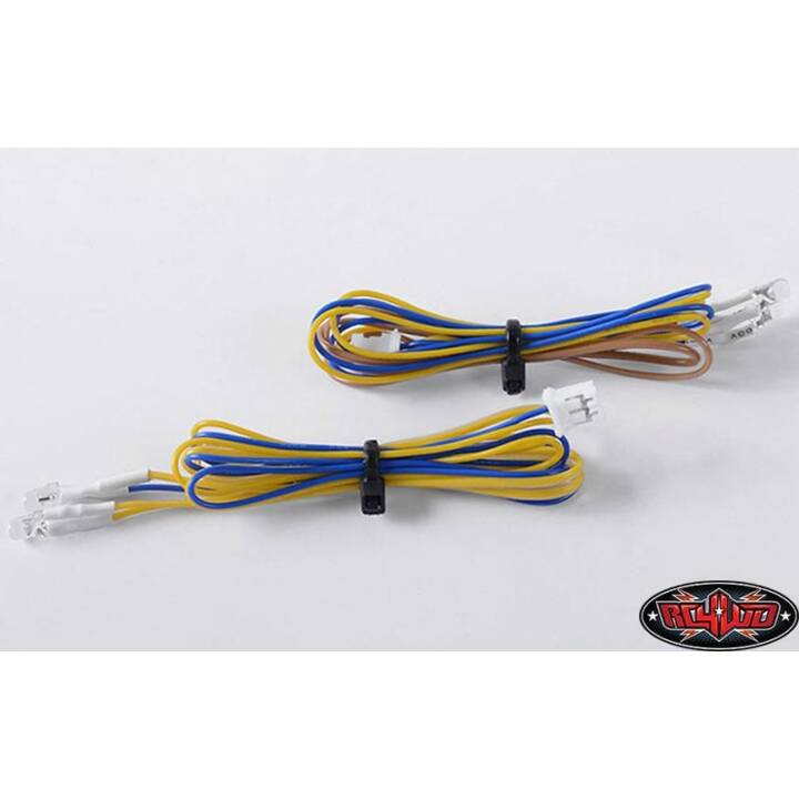 RC4WD Eclairage LED Blanc 3 mm