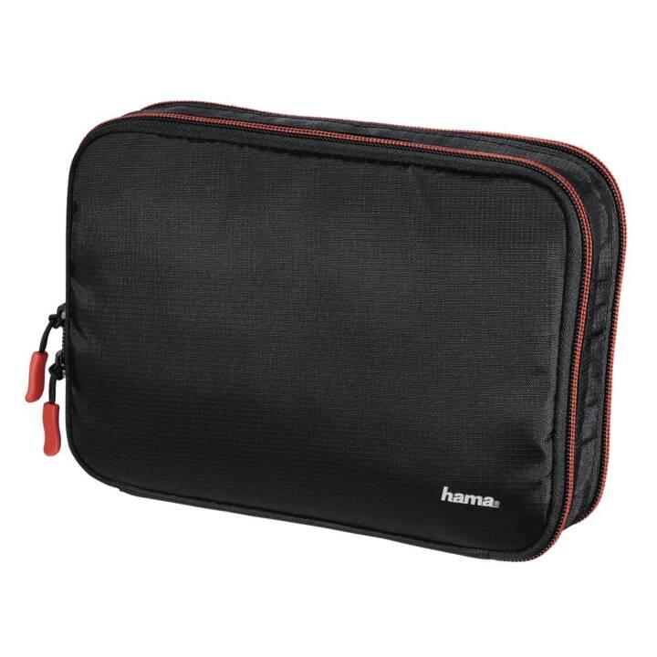 HAMA Fancy L Accessoires pour appareils photo Organisateur, Rouge, Noir