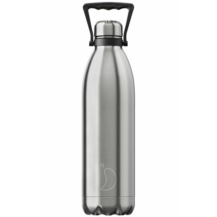 CHILLY'S Borraccia Stainless Steel (1.8 l, Argento)