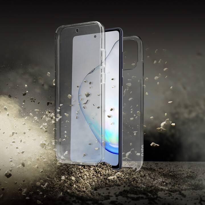 SBS Backcover Full Body Case (Galaxy Note 10 lite, Transparente)