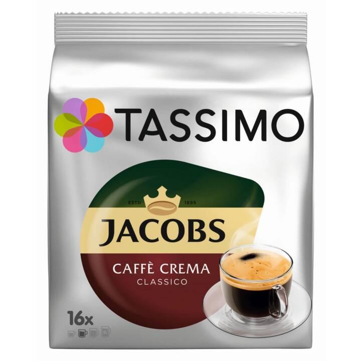 TASSIMO Kaffeekapseln Caffè Crema Classico Jacobs (16 Stück)