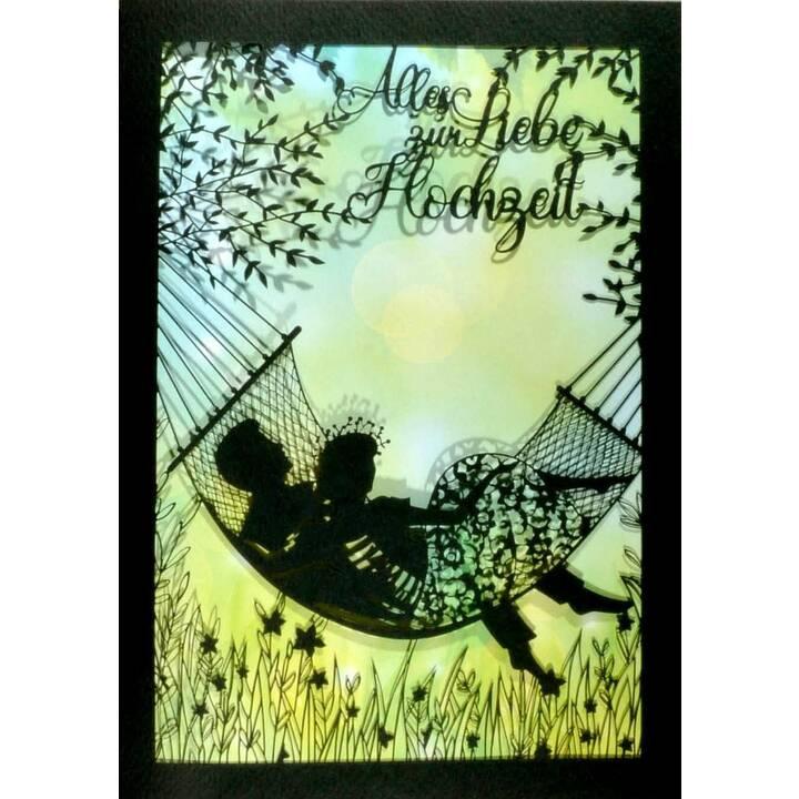 ABC Carte de vœux (Mariage, A5)