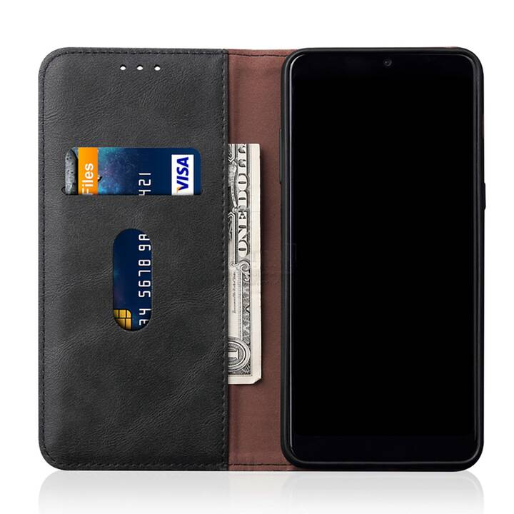 """EG Mornrise custodia a portafoglio per Samsung Galaxy S20 Plus 6.7"""" 2020 - nera"""