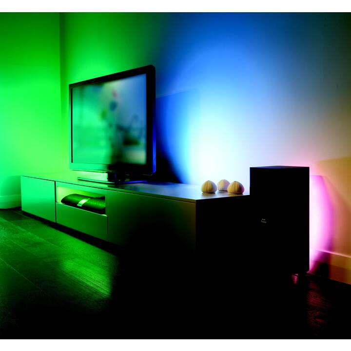 PHILIPS HUE Ampoule LED White & Color Ambiance (GU10, WLAN, 6.5 W)