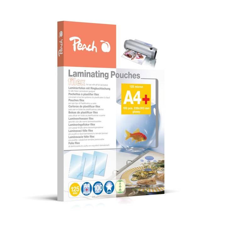 PEACH Laminierfolien (A4, 125 µm, 100 Stück)