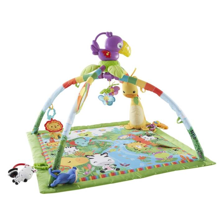 FISHER-PRICE Palestrine & copertine gioco Rainforest (Multicolore)