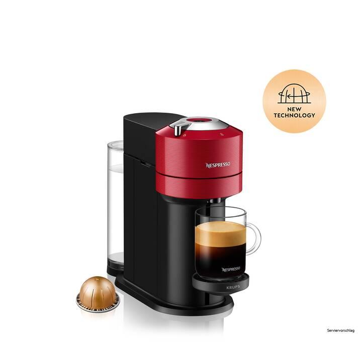 KRUPS Vertuo Next XN9105CH (Nespresso Vertuo, Cherry Red)