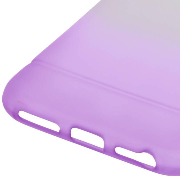 HAMA Backcover (iPhone 7, iPhone 8, iPhone SE 2020, Transparente, Porpora)