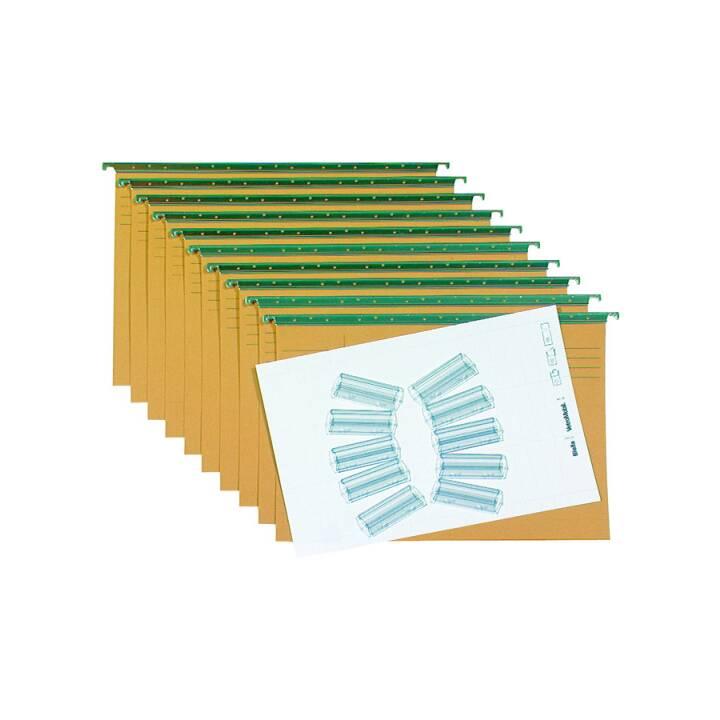 Set di cartelle sospese BIELLA A4 10 pezzi