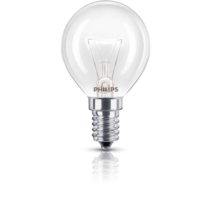 PHILIPS Lampada da forno 40 W E14 a forma di globo, dimmerabile