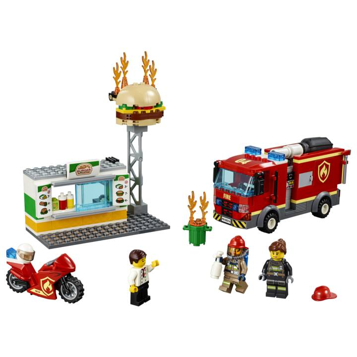LEGO City Fiamme al Burger Bar (60214)