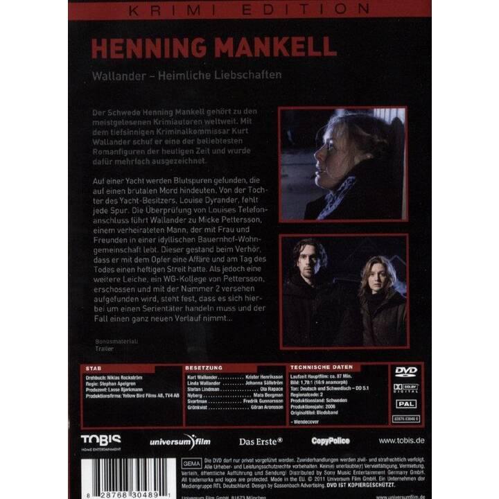 Henning Mankell - Wallander - Heimliche Liebschaften (DE, SV)