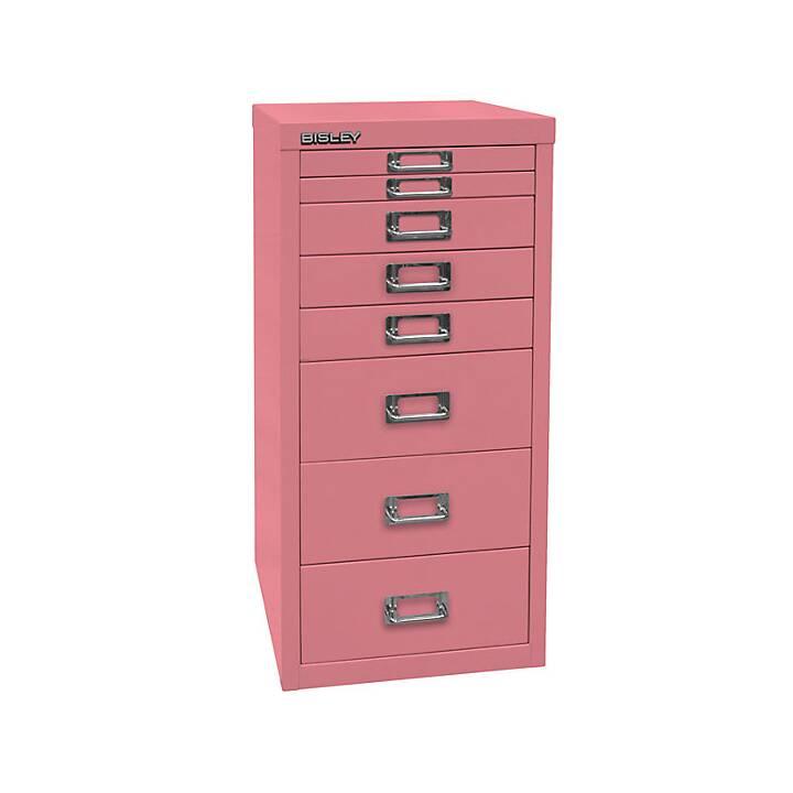 BISLEY MultiDrawer Schubladenbox (A4, Pink)