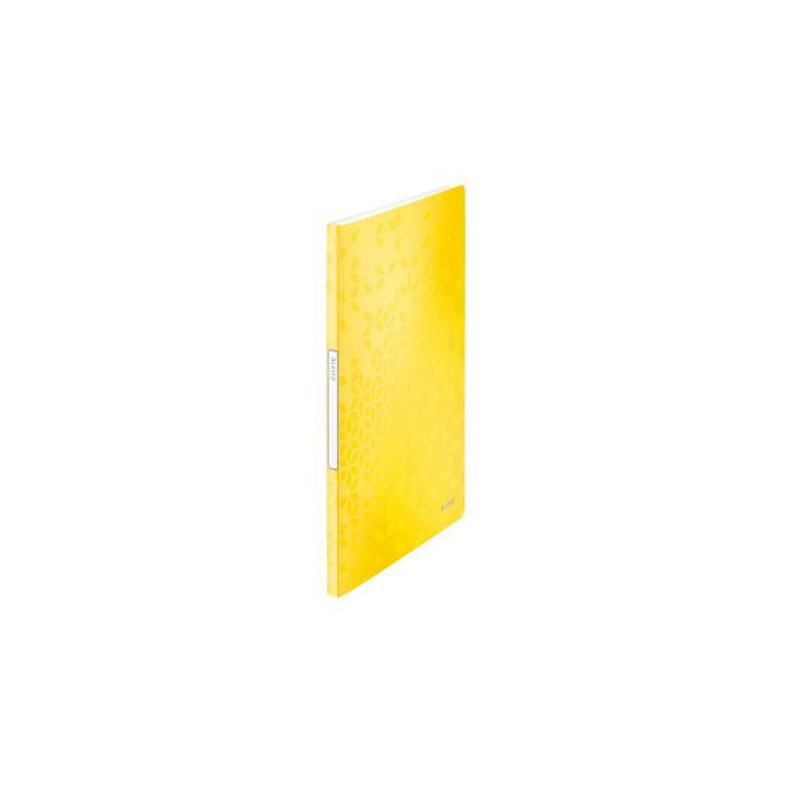LEITZ Sichtmappe (Gelb, A4)
