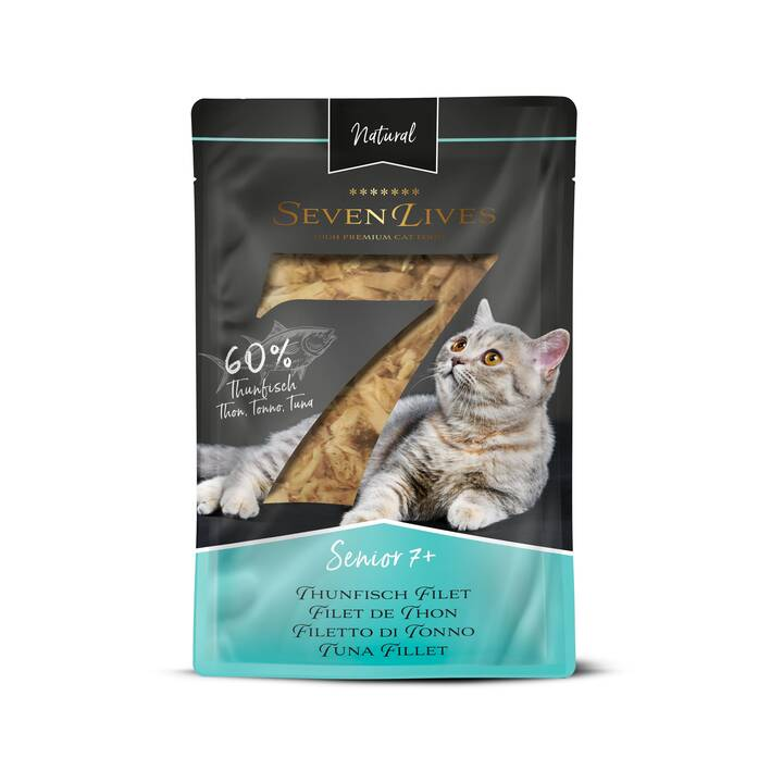 7LIVES Nassfutter (Senior, 60 g, Thunfisch)