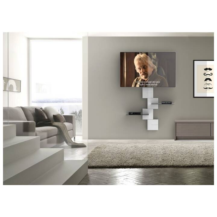 MELICONI Ghost Cubes Shelf (Weiss)