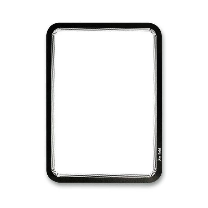 TARIFOLD Sichtmappe (Schwarz, Transparent, A4, 2 Stück)