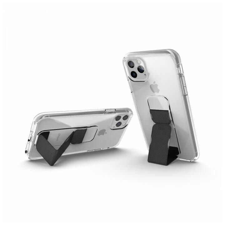 CLCKR Backcover Clear Gripcase (iPhone 11 Pro Max, Transparent, Noir)