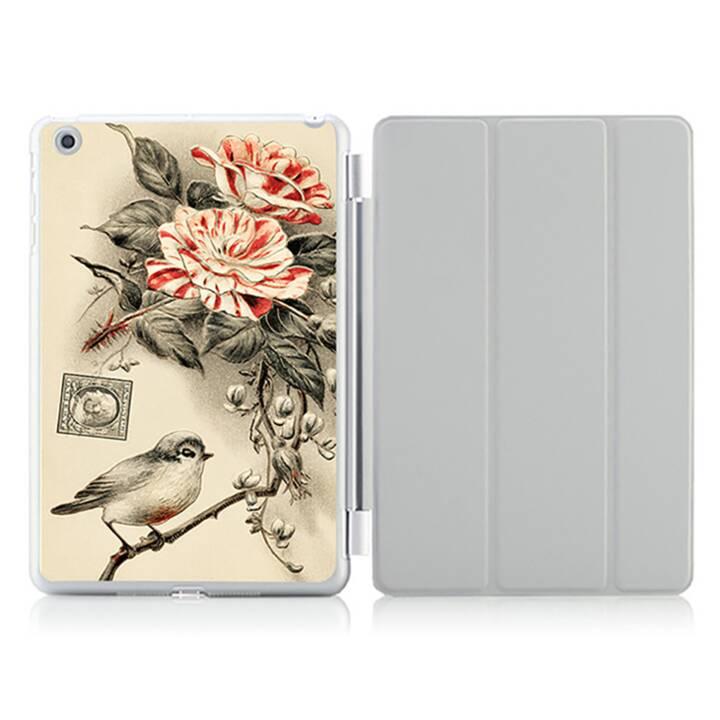 """EG iPad Hülle für Apple iPad 9.7 """"Air 1 - Retro Lack Vogel"""
