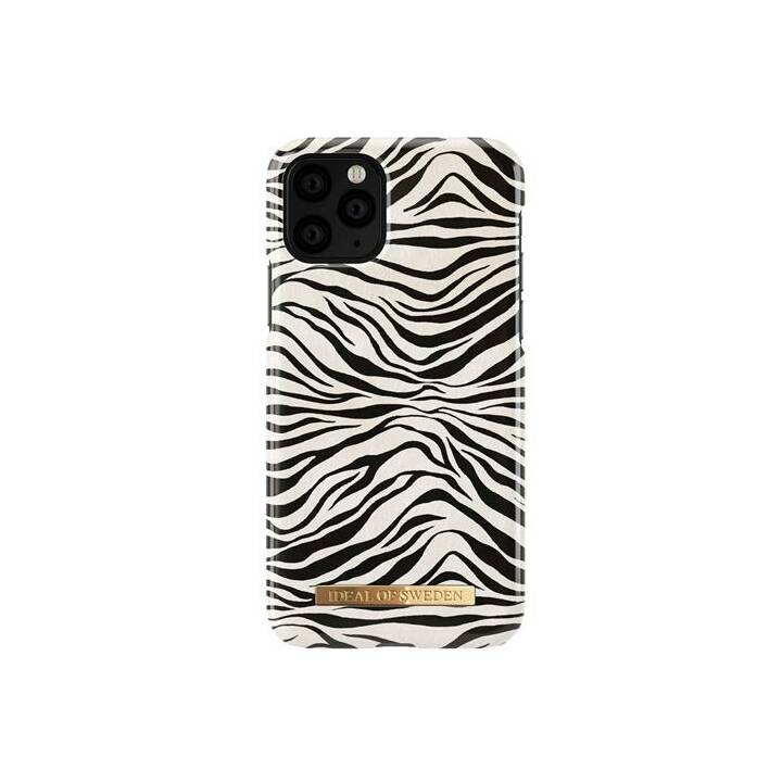 IDEAL OF SWEDEN Backcover Zafari Zebra (iPhone 11 Pro, Weiss, Schwarz)