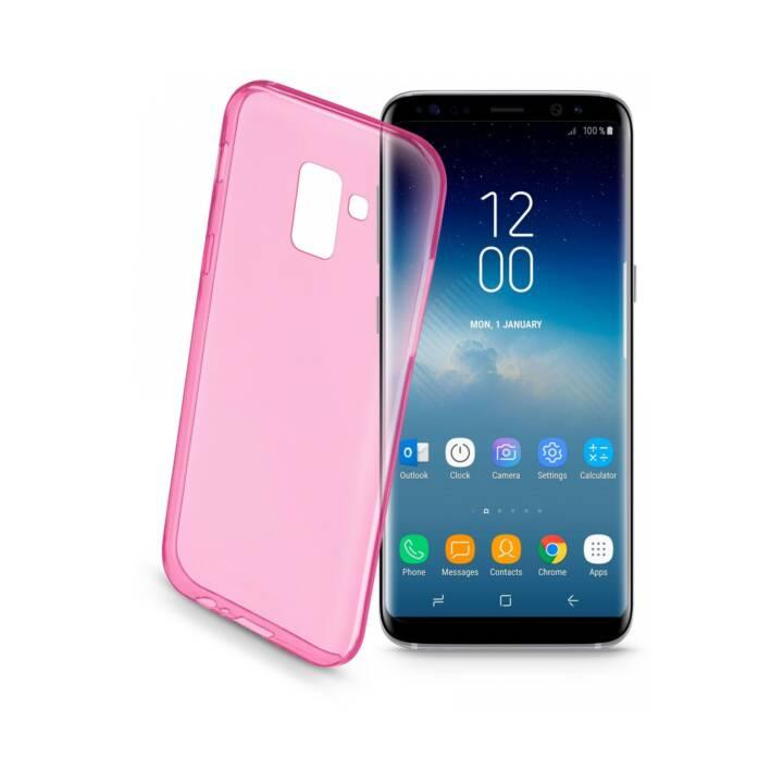 CELLULARLINE Étui couleur Galaxy S9 Rose