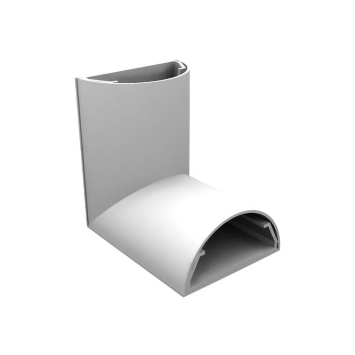 MULTI-BRACKETS angle 90° 50 mm blanc