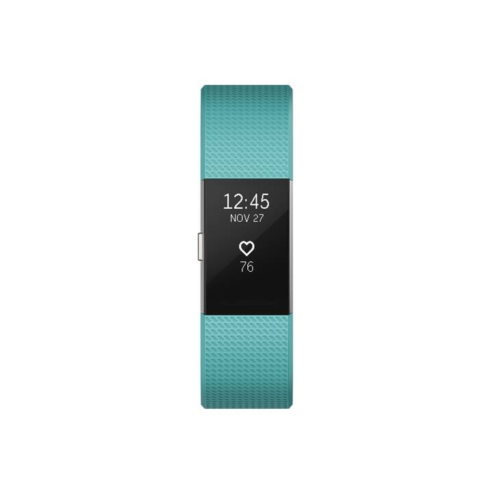 FITBIT Charge 2 (L, Turquoise)