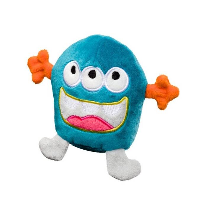 Plush-Monster (10 cm, Pink, Blu, Colori assortiti)