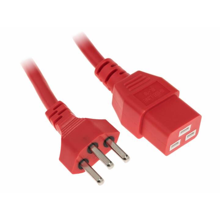 Câble d'alimentation DIGGELMANN 3,6 m C19-T23