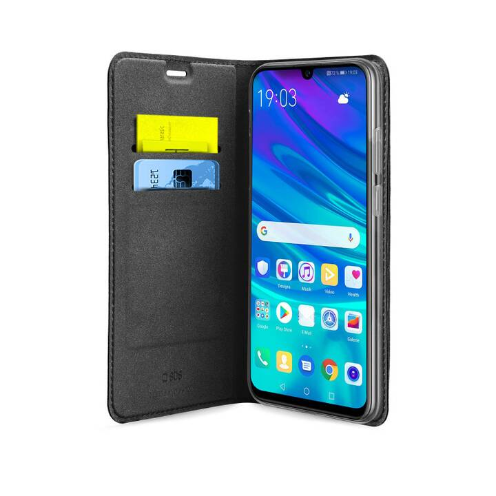 SBS Flipcover Wallet (Honor 20 Lite, P Smart+ (2019), Nero)