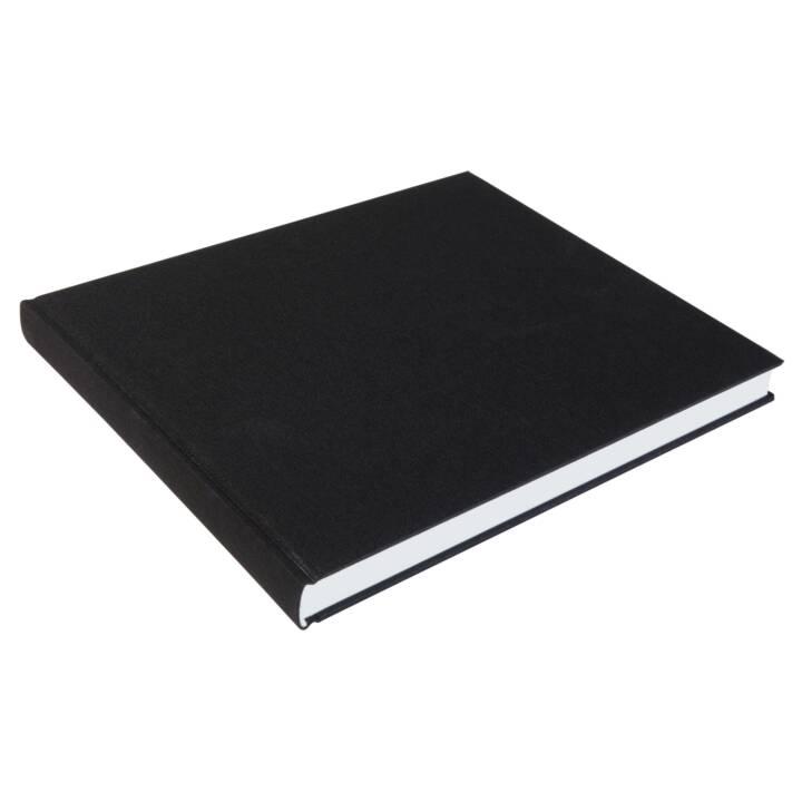 SIGEL Carnet 24 x 20.6 cm, Uni, Noir