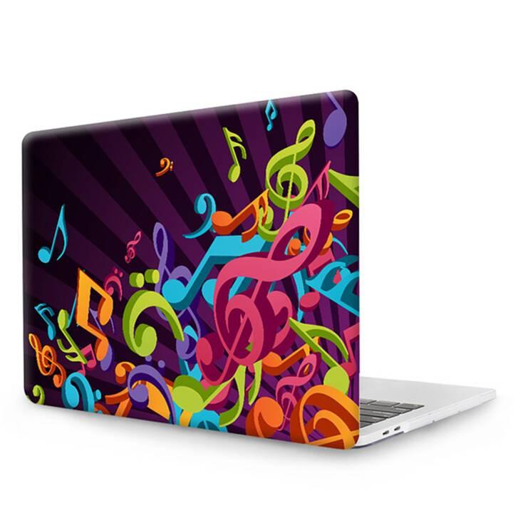 """EG MTT Cover pour MacBook Pro 13"""" CD ROM - Musique en feuilles"""