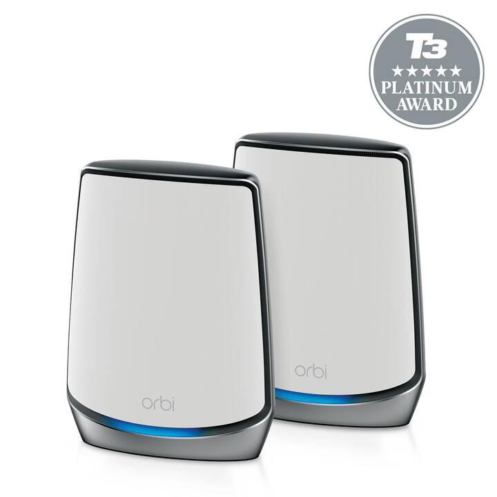 NETGEAR Orbi RBK852 AX6000 WiFi 6 Duo WLAN-Mesh Router