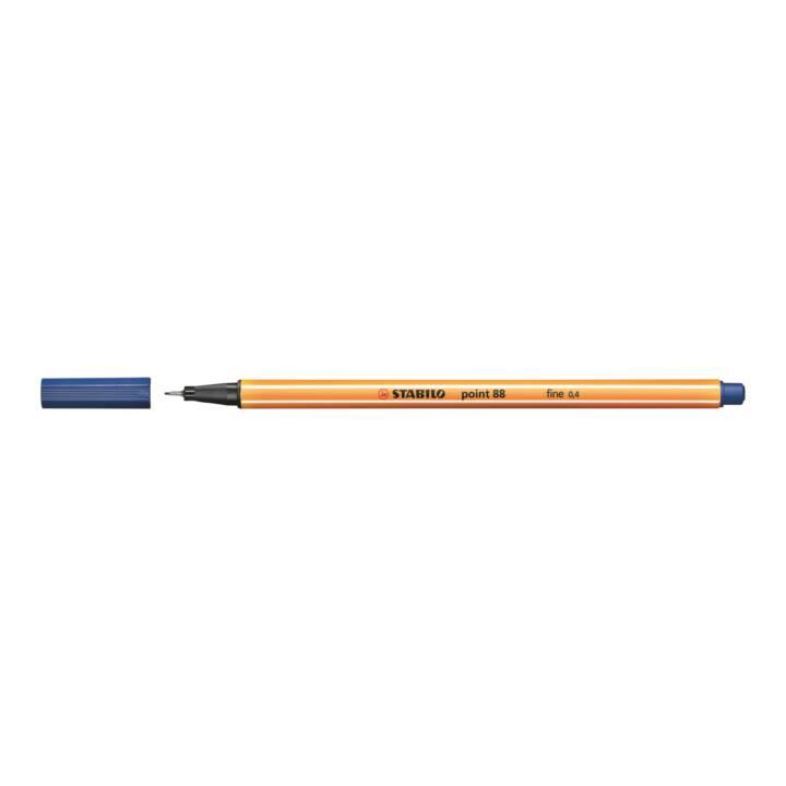 STABILO point 88 penna a punta fine 0.4mm blu