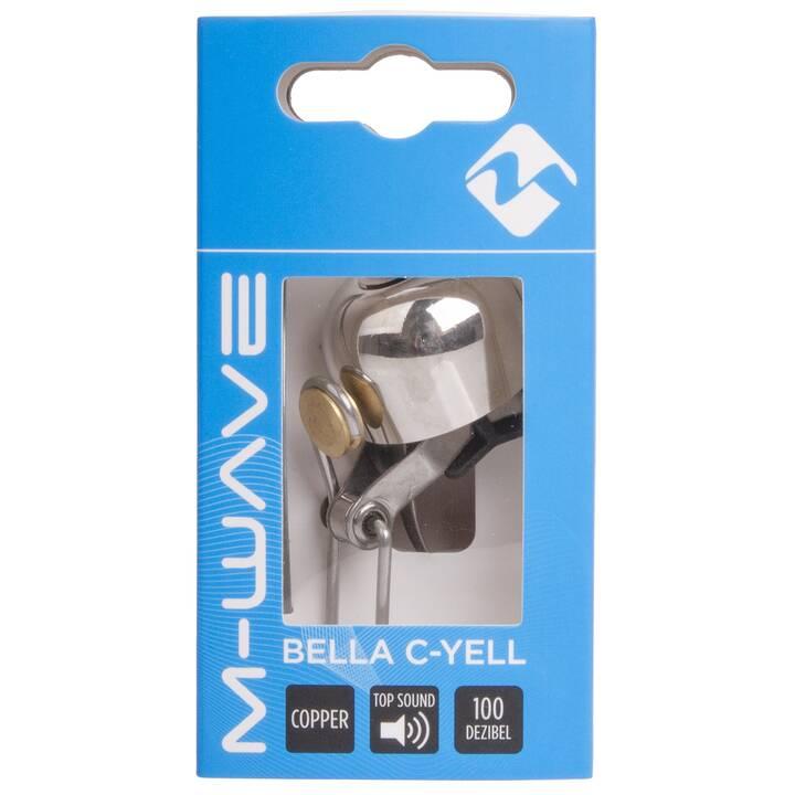 M-WAVE Campanello bici Bella C-Yell