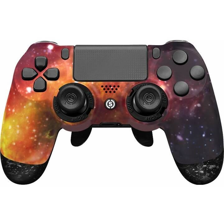 SCUF GAMING Infinity 4PS Pro - Supernova Gamepad (Arancione, Viola)