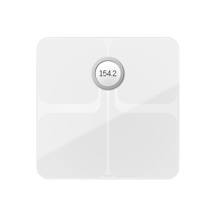 FITBIT WLAN in scala Aria 2 Bianco