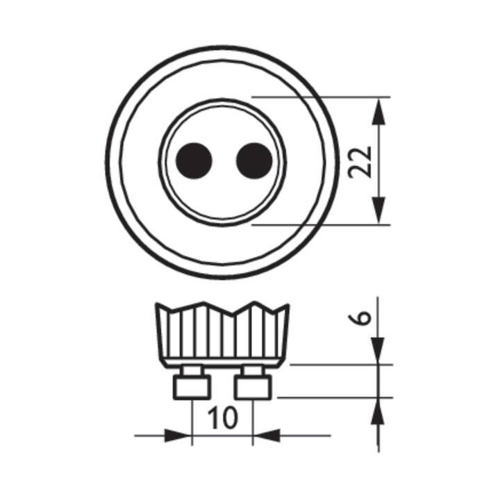 PHILIPS Spot incassato RS049B (LED, 4.3 W)