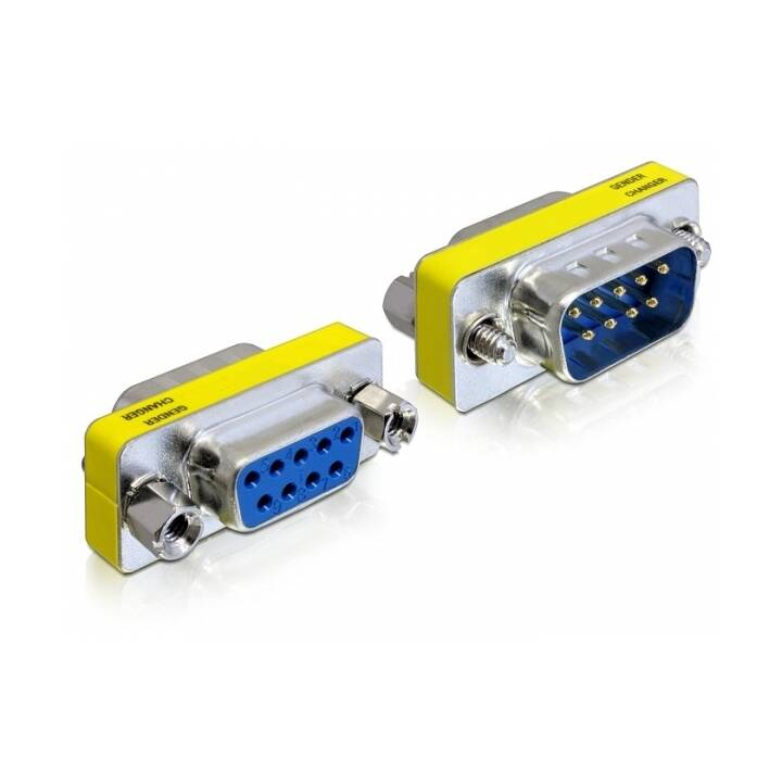 DELOCK Adapter (DB9, DB-9)