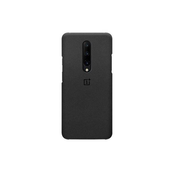 ONEPLUS Backcover Sandstone (OnePlus 7 Pro, Noir)