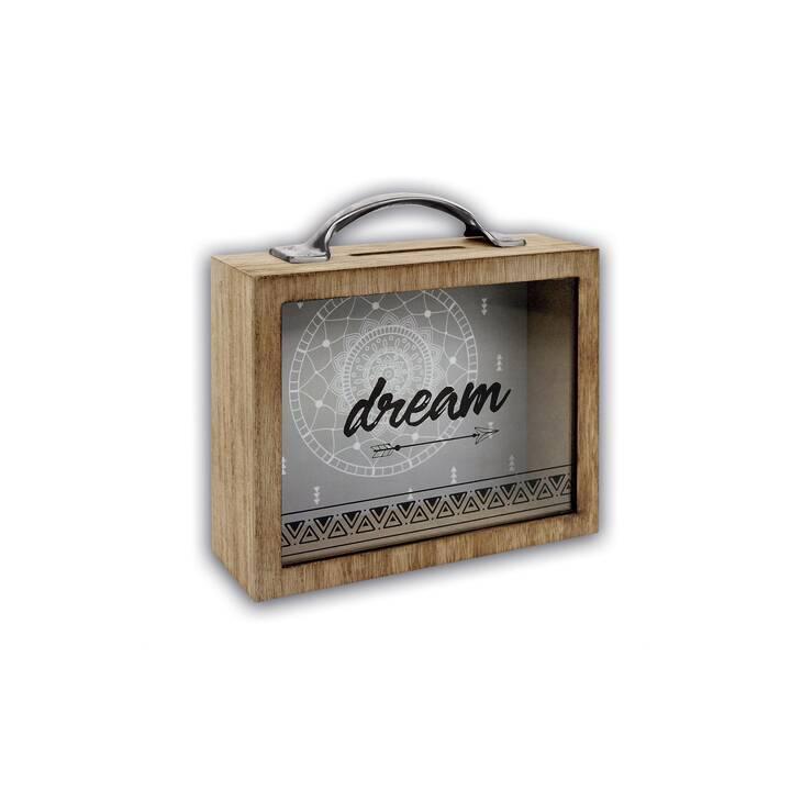 GOLDBUCH Tirelire Dream (Brun)