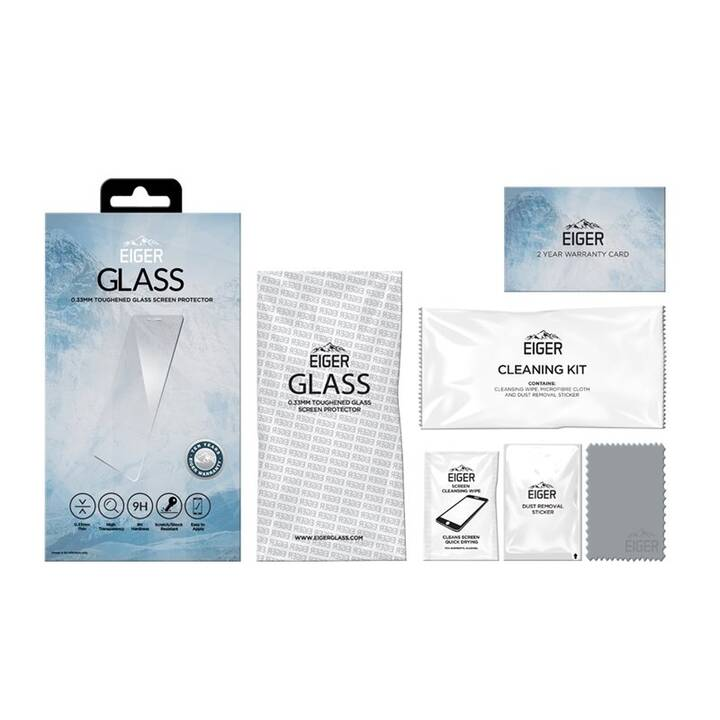EIGER Verre de protection d'écran Glass Screen Protector (Galaxy A51)